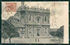 Agrigento Naro Sant'Agostino cartolina XB1171