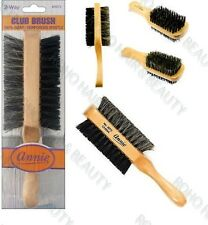 "Annie A Setole Naturali Cinghiale Club Brush 7"" soft e hard WAVE Brush 2072 due vie"