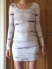 Black Milk Long Sleeve Mummy Bandages Dress Size Medium