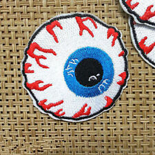 New 1 Pc Eyeball Embroidered Iron On Applique Motif Patch