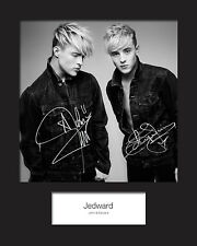 JEDWARD #310x8 SIGNED Mounted Photo Print - FREE DELIVERY