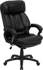 Flash Furniture HERCULES Series High Back Black Leather Executive Office Chair