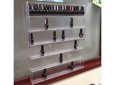Acrylic Clear Nail Polish Station Display Wall Hang Rack Hold 90 to 120 bottles