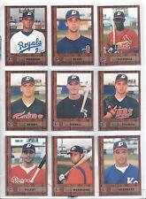 1998 Delaware Stars Luis Saturria Boca Chica Dominican Republic DR Baseball Card