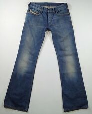 "DIESEL size W 29  L 33"" Bootcut Men's Jeans Blue Authentic C35"