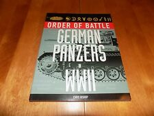 ORDER OF BATTLE GERMAN PANZERS IN WWII Nazi SS World War II Army Units Book NEW