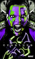 "Jeff Hardy ""Creature"" Banner - Impact Wrestling - TNA - Poster - 152 x 91 cm"