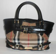 Burberry Tote - Bridle House Check Medium Lynher Black
