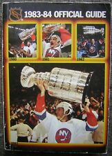 1983-84 National Hockey League Official Guide