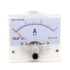 Analog 85L1 AC 3A Panel Meter Amperemeter Messgerät Einbaumeßgeräte