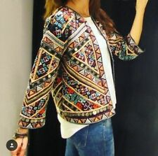NWT Zara Embroidered Jacket Size S Queen Letizia Bloggers