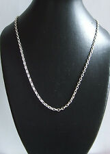 925 Sterling Silver  belcher Necklace chain 30ins long
