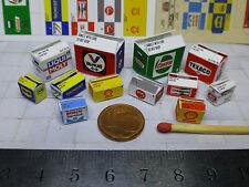 12 Diverse Color Kartons für 1:43 / 1:32 Diorama,Garage Werkstatt Tankstelle