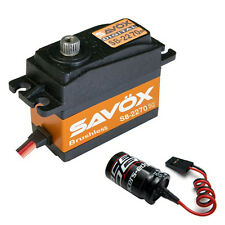 Savox SB-2270SG Monster Torque Brushless Steel Gear Digital Servo Glitch Buster