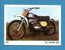 AUTO E MOTO - Figurina-Sticker n. 410 - CZ CROSS 380 -New