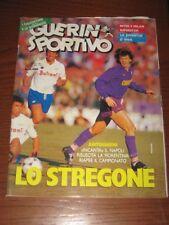 GUERIN SPORTIVO=N°1/2 (624) 1987 ANNO LXXV=LO STREGONE ANTOGNONI COVER