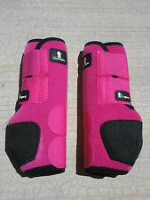 Classic Equine Legacy Boots FRONT Sports SMB Horse Tack Patterns Plain LEG BOOTS
