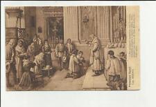 antica cartolina formato piccolo lecco i promessi sposi capitolo XXXVIII