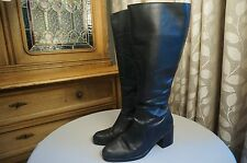 Womens BP. Nordstrom black leather knee high boots shoes size 9.5 M          61J