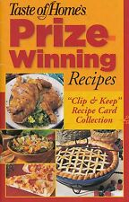 TASTE OF HOME'S PRIZE WINNING RECIPES COOKBOOK 2006 CHEESECAKES, PIZZAS, PIES