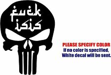 F_ck ISIS #04 Anti Terrorist Decal Sticker JDM Vinyl Car Window Bumper Truck 7""