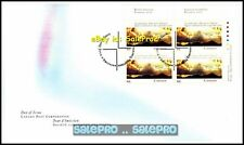 CANADA 2000 CANADIAN SEVEN DAY ADVENTIST FV FACE $1.84 MNH STAMP BLOCK FDC
