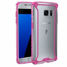 Affinity Premium Thin&Corner Protection Bumper Case for Galaxy S7 Pink