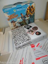 New Microsoft Xbox One White Console System Signed Autograph Sunset Overdrive