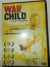 WAR CHILD DVD REGION 1 LIKE NEW KARIM CHROBOG EMMANUEL JAL