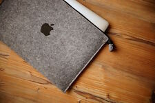 "MacBook Air case 13"" - ZIP - WITH PRINT APPLE"