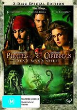 Pirates Of The Caribbean - Dead Man's Chest (DVD, 2006, 2-Disc Set) Region 2