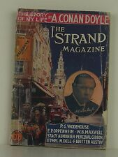ARTHUR CONAN DOYLE The Story of My Life FIRST EDITION STRAND MAGAZINE