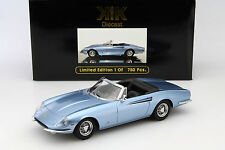 Ferrari 365 California Spyder Baujahr 1966 hellblau metallic 1:18 KK-Scale
