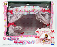 Takara Tomy Licca Doll Lovely Bed Set  doll not included  (822608)