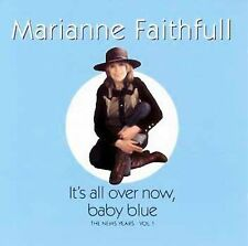 It's All Over Now Baby Blue by Marianne Faithfull (CD, Jan-2000, Repertoire)