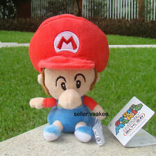 "Baby Mario 6"" Super Mario Bros Run Son Plush Toy Lovely Stuffed Animal Soft Doll"
