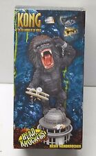 King Kong with Plane on Building Movie NECA Head Knocker in box