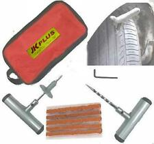 Car Bike Auto Tubeless Tire Tyre Puncture Plug Repair Kit with Carry Case (Bag)
