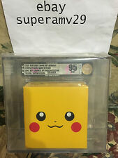 GAME BOY ADVANCE SP PIKACHU BUNDLE JAPAN RELEASE VGA 95 ARCHIVAL