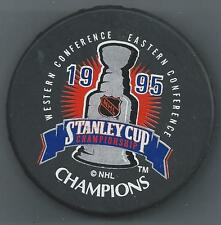 1995 Stanley Cup Champions  New Jersey Devils - 2-Sided Souvenir Hockey Puck