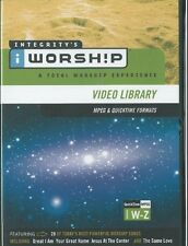 IWorship MPEG Quicktime Video Library Volumes W-Z (DVD-ROM, Integrity Music)