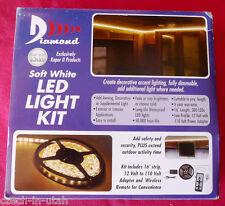 Diamond Gr. 16 foot Soft White Strip Light Kit With Dimmer 52686 UPC785175526868