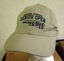 US SENIOR OPEN Inverness Club golf 2011 baseball hat Ohio embroidery WNWO