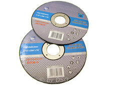 4-1/2 Inch 115mm Stainless Steel Cut Off Discs Blades x 10 Pack - FREE POSTAGE