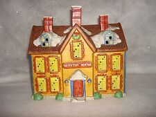 Santa's Best Mansion House Dickens Of London Village Building 1991 Lighted