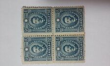 CNMG02 China stamp,1940-2cts BLUE-BLOC 4-MH,F