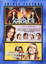 Diaz Triple Feature Charlie's Angels My Best Friend's Wedding Sweetest NEW 3 DVD