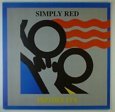 """12"""" Maxi - Simply Red - Infidelity - k5556 - washed & cleaned"""