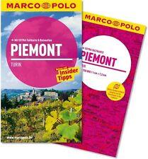 !! Piemont Turin 2014 UNGELESEN Reiseführer + Karte Marco Polo Italien