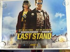 The Last Stand Arnold Schwarzenegger Action Original Movie Poster Quad 76x102cm